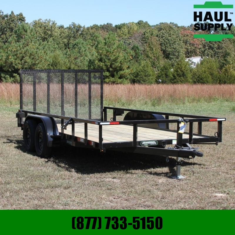 Wicked Trailer Manufacturing 82X14 7K UTILITY TRAILER 4FT REAR STYLE G