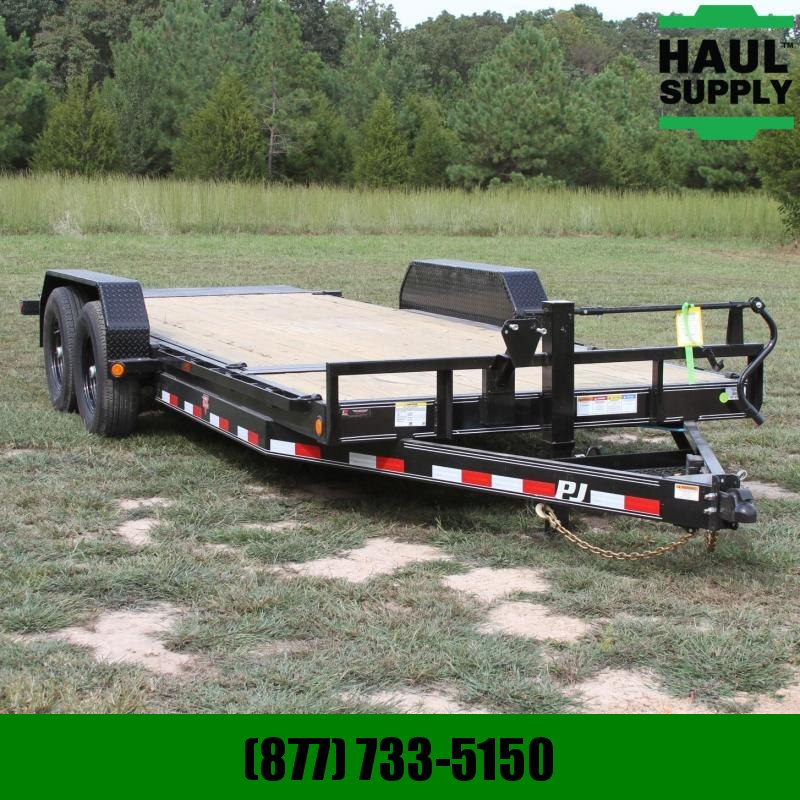 PJ Trailers 83X20 14K Channel Equipment Tilt Trailer