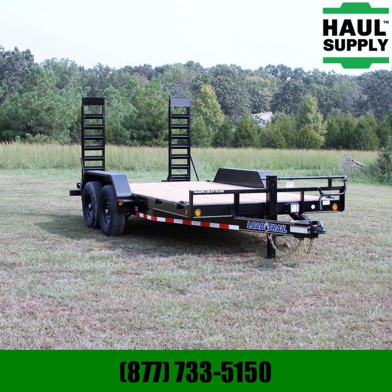 Load Trail 83X16 14K Open Car Hauler Dexter Axles Fo