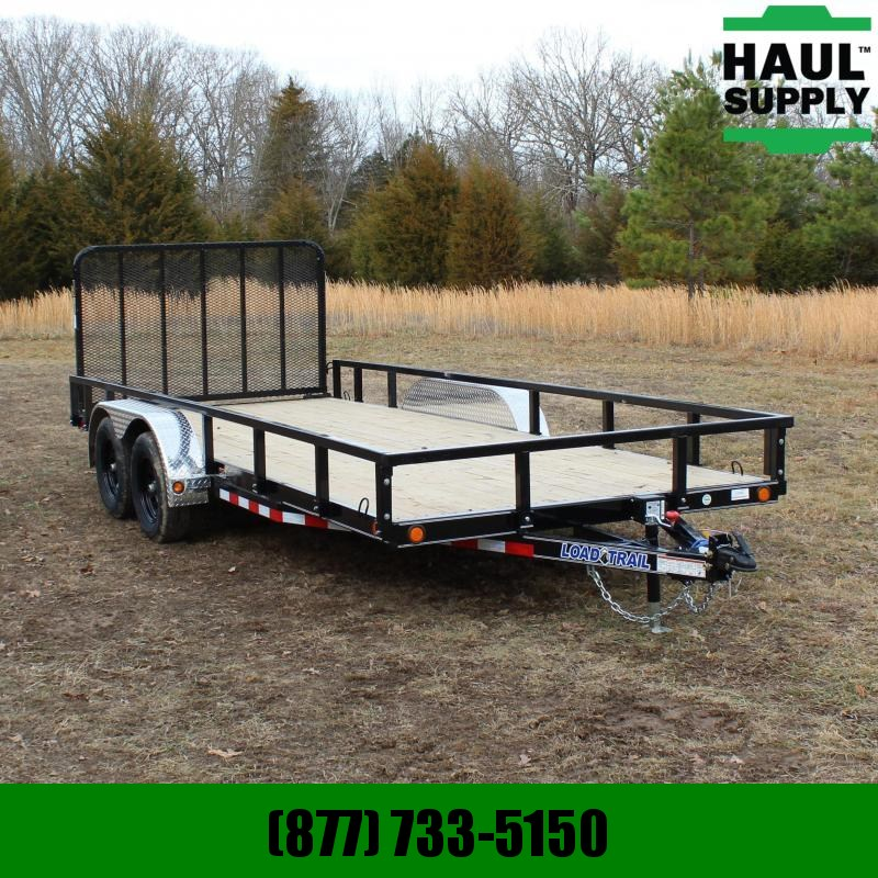 Load Trail 83X18 7K UTILITY 4IN CHANNEL FRAME TREATE