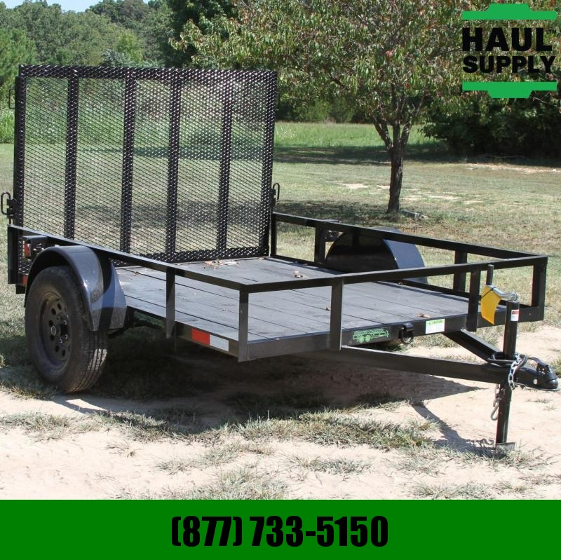 Wicked Trailer Manufacturing 76X8 SINGLE AXLE UTILITY TRAILER 4FT GATE