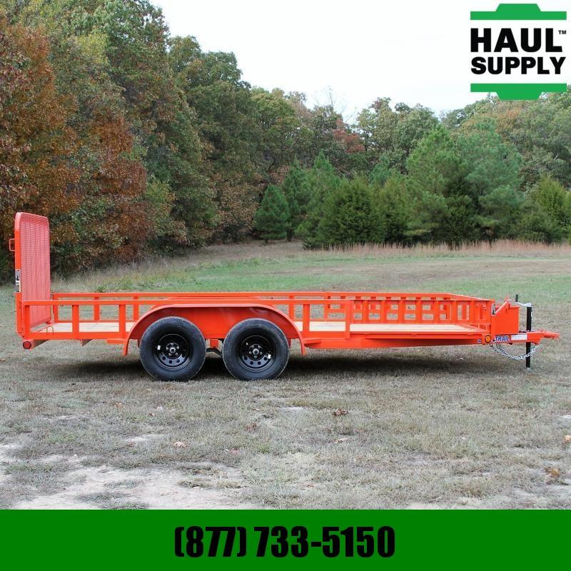 Load Trail 83X16 7K Utility Trailer HD Rear gate Sli