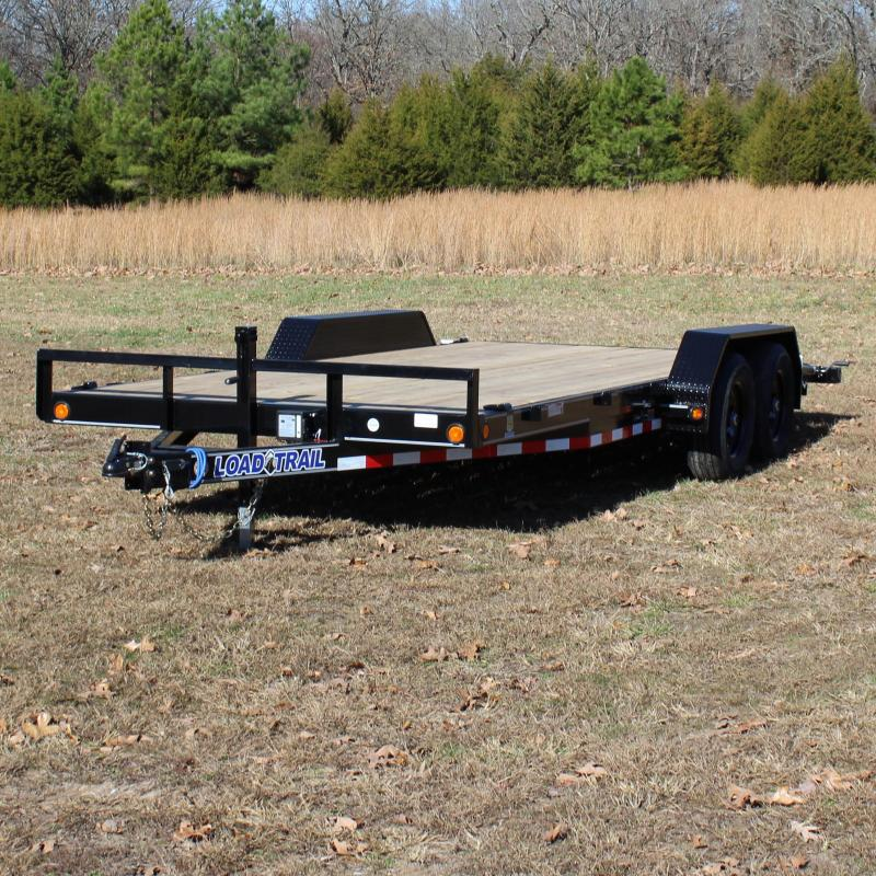 Load Trail 83X18 10K  EQUIPMENT TRAILER REAR SLIDE-I