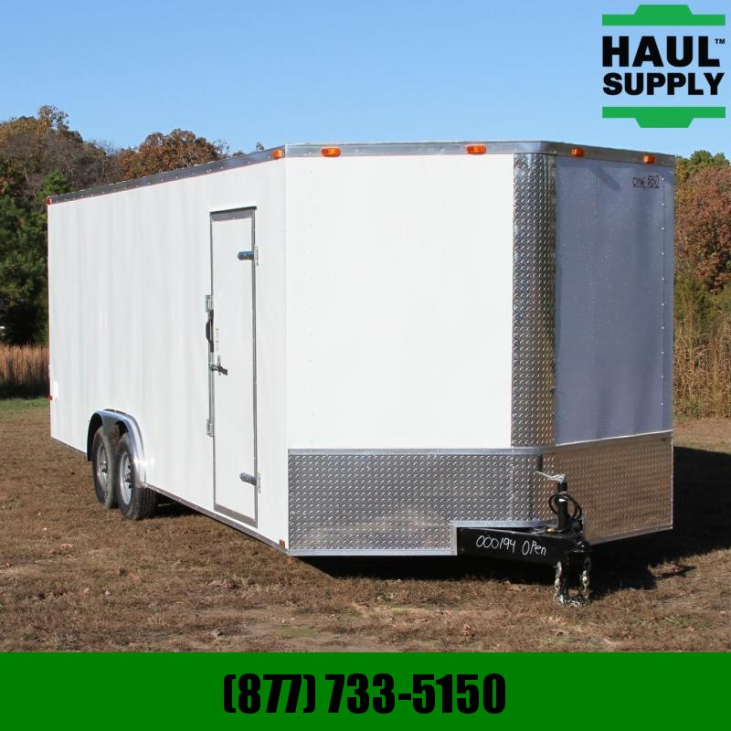 Cynergy Cargo 8.5X24 10K XT V-nose Enclosed Car Hauler