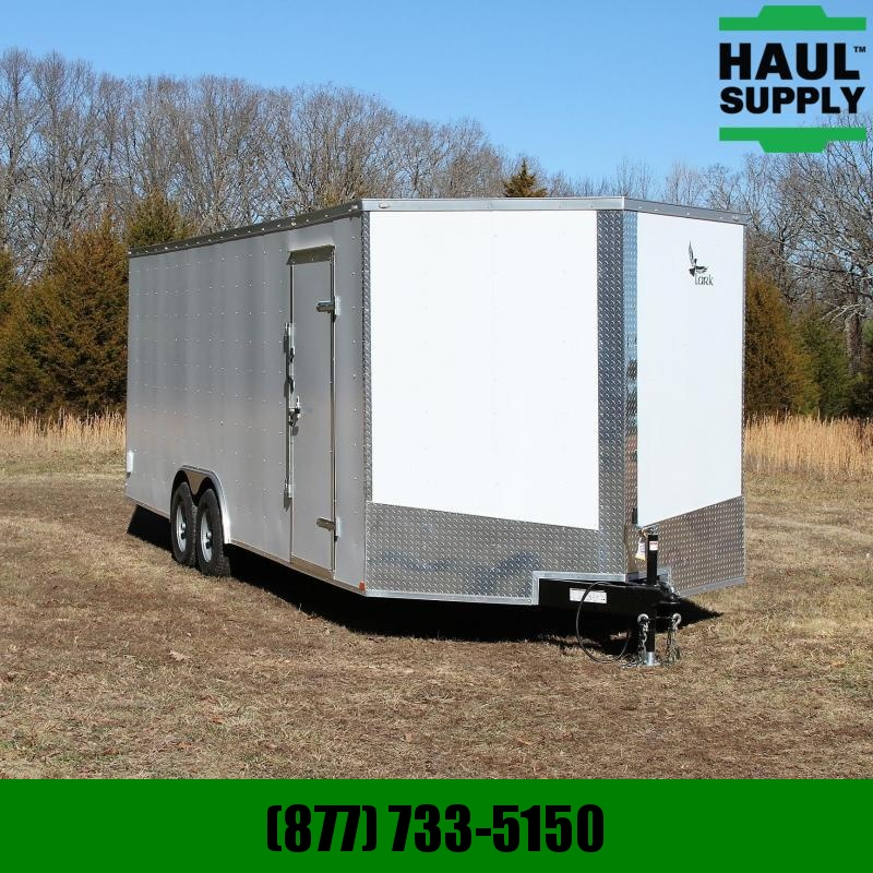 Lark 8.5X24 10K V-NOSE ENCLOSED CAR HAULER XT