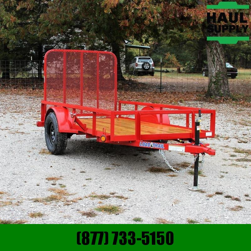 Load Trail 60X10 Utility Single Dexter Spring Axle S