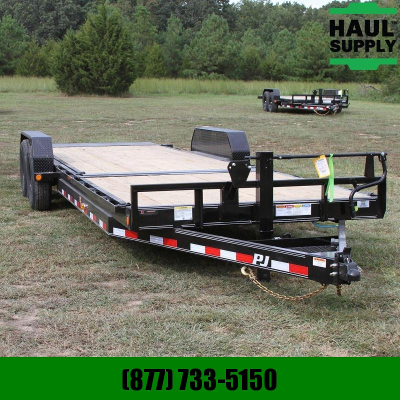 PJ Trailers 83X24 14K Equipment Tilt Trailer 6in Chan