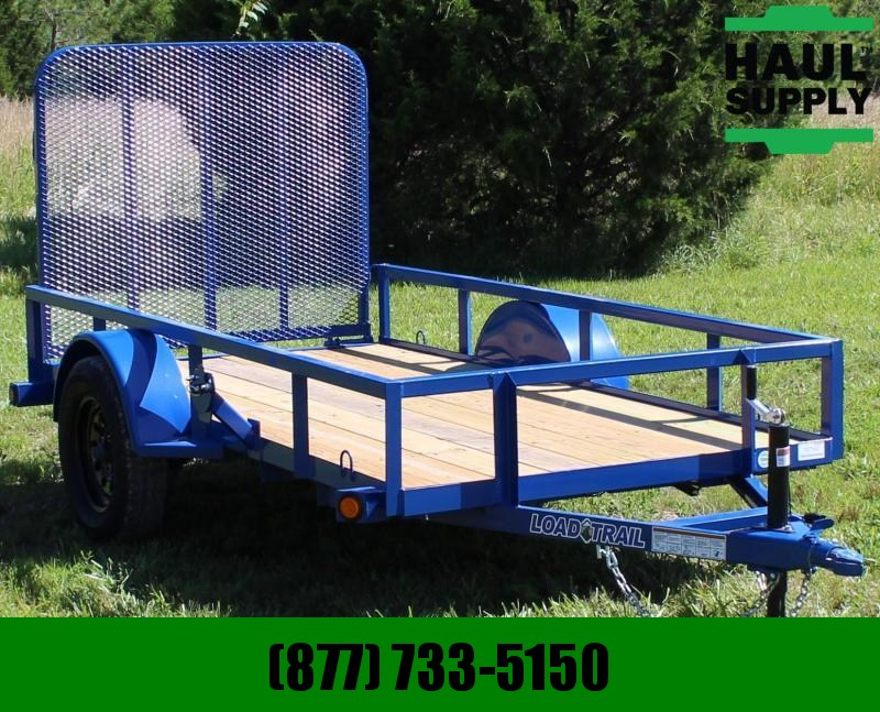 Load Trail 60X10 Utility Trailer  4' Fold-in Gate Sp