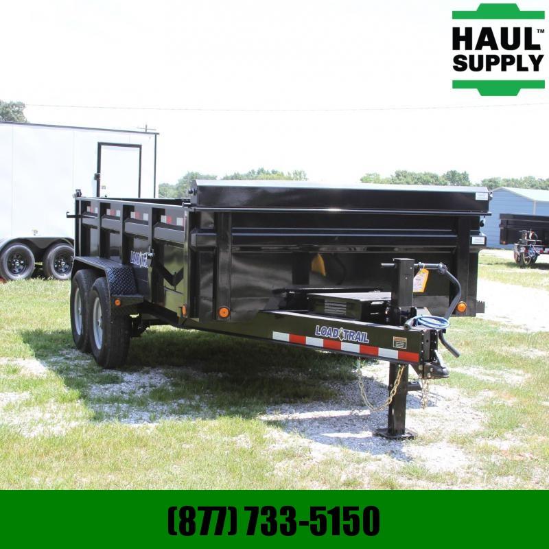 Load Trail 83X16 14K DUMP 24IN SIDES 1 MAX STEP RADI