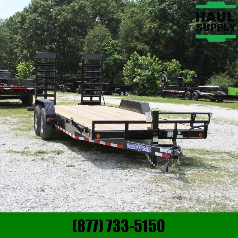 Load Trail 83X22 14K OPEN CAR HAULER DEXTERS 6IN CHA