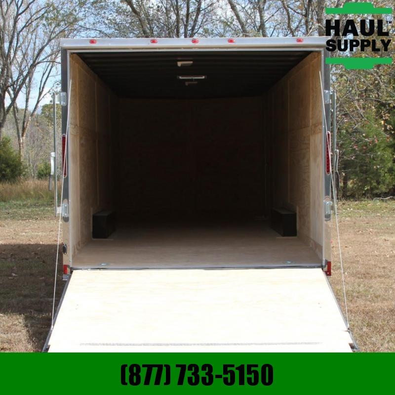 Cynergy Cargo 8.5X28 10K V-NOSE ENCLOSED CAR HAULER REA