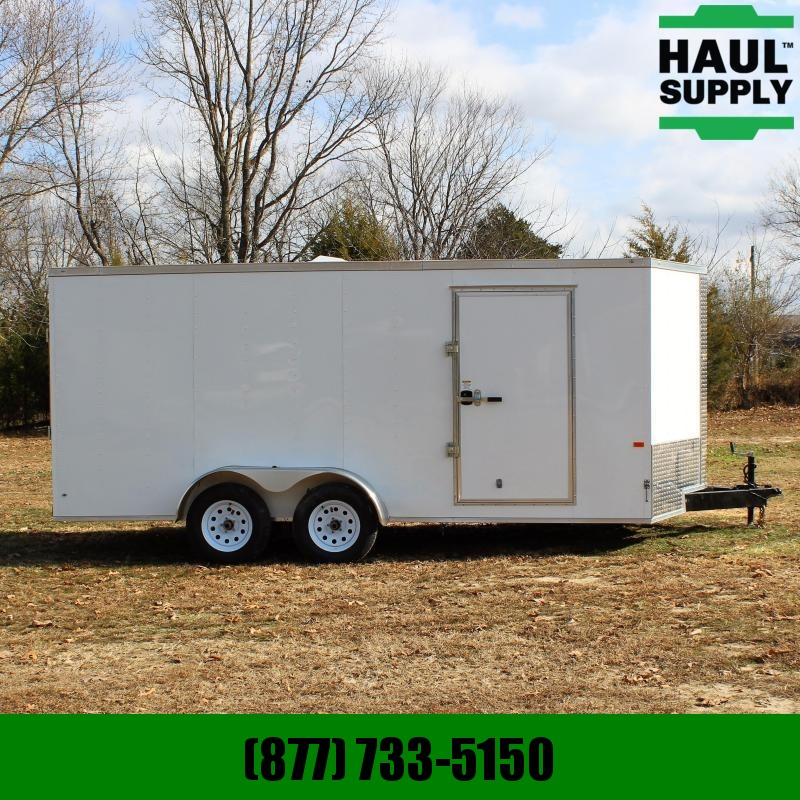 Rock Solid Cargo 7X16 7K V-NOSE ENCLOSED CARGO TRAILER ROC