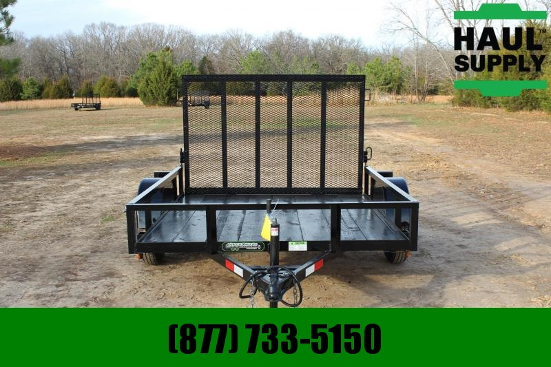 Wicked Trailer Manufacturing 76X8 UTILITY TRAILER WITH REAR GATE