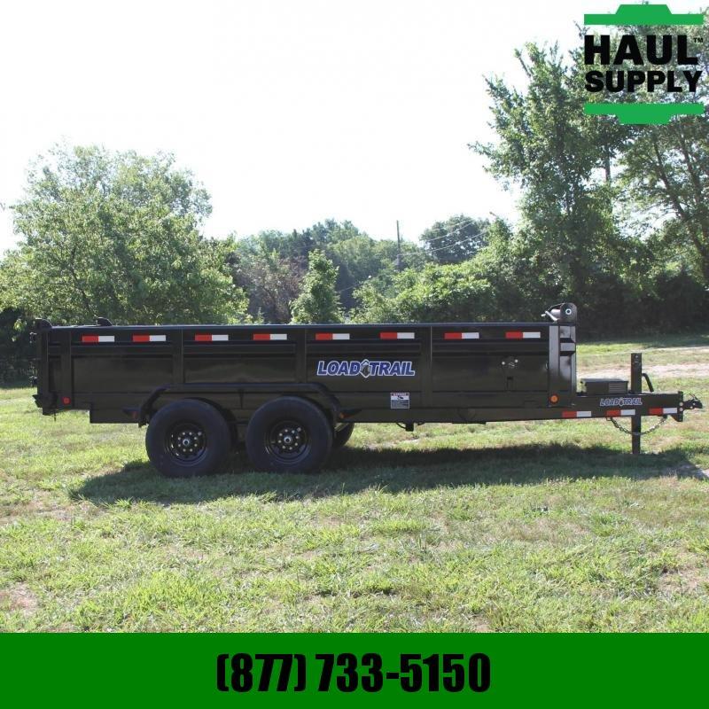 Load Trail 83X16 14K DUMP TRAILER 16IN CROSSMEMBERS