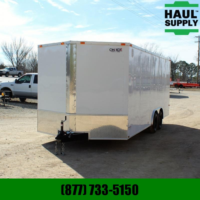Cynergy Cargo 8.5X20 7K XT V-NOSE ENCLOSED CAR HAULER S