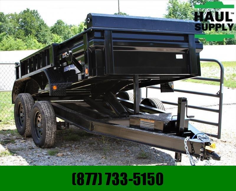 Load Trail 60X10 7K DUMP 16IN CROSSMEMBERS 18IN SIDE