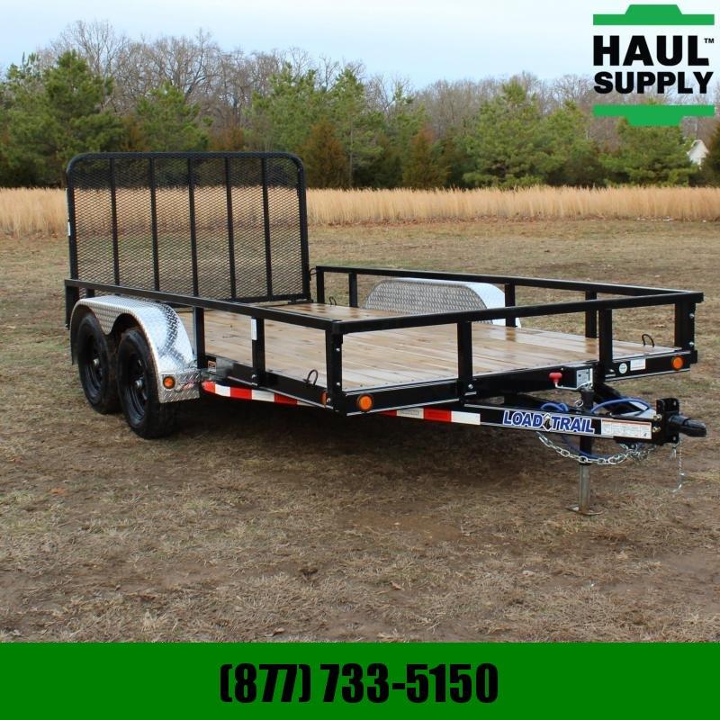 Load Trail 83X14 7K UTILITY TRILLER W/ 4IN CHANNEL F