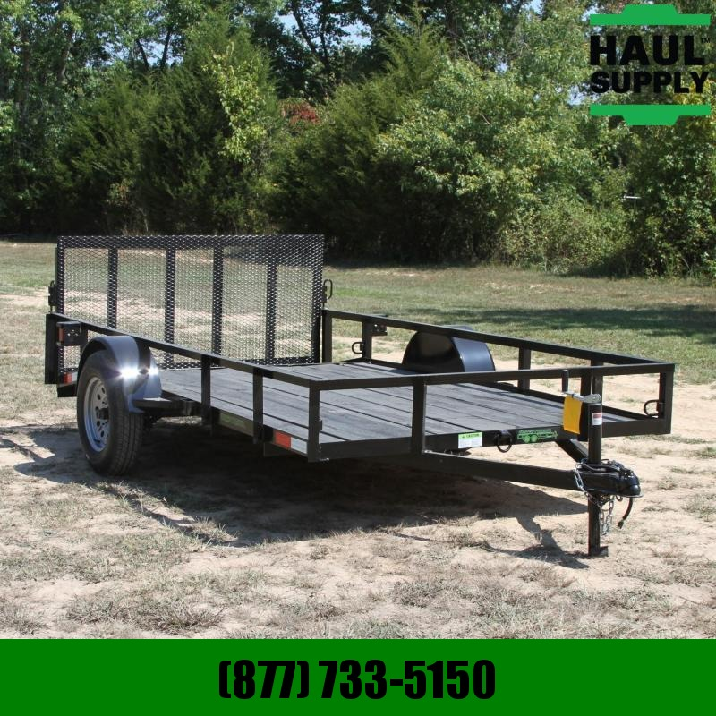 Wicked Trailer Manufacturing 76X12 UTILITY TRAILER DOVETAIL GATE+MORE