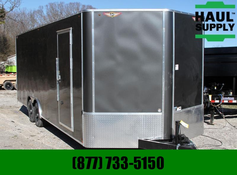 H and H Trailer 8.5X24 10K V-nose Enclosed XXT Car Hauler