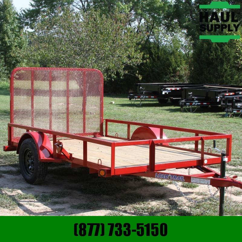 Load Trail 77X10 Utility 4ft Fold-in gate welded Spa