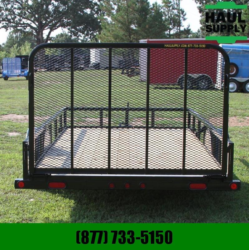 Load Trail 77X14 Utility trailer w/Treated wood floo