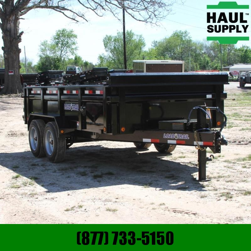 Load Trail 83X14 14K DUMP TRAILER 24IN SIDES 1 MAX S
