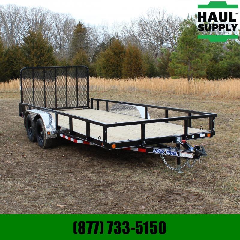 Load Trail 83X18 7K UTILITY TRAILER 4IN CHANNEL FRAM