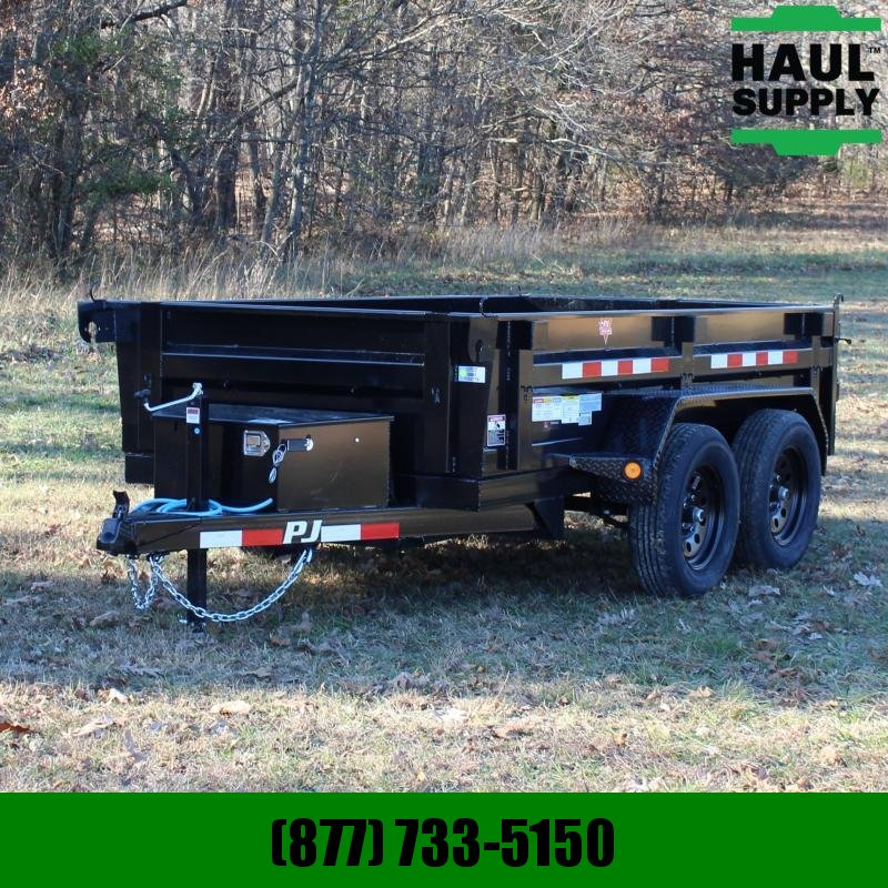 PJ Trailers 60X10 7K DUMP 3IN CHANNEL CROSSMEMBERS 16