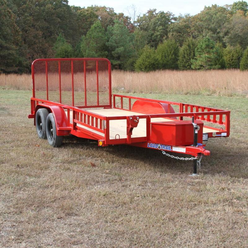 Load Trail 83X16 7K Utility w/treated wood floor squ