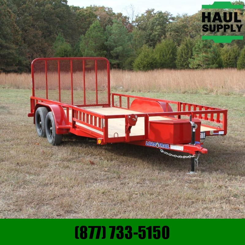 Load Trail 83X16 7K Utility w/treated wood floor squ