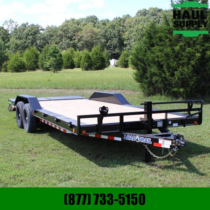 Load Trail 102X22 14K  HD CARHAULER  DRIVE-OVER FEND