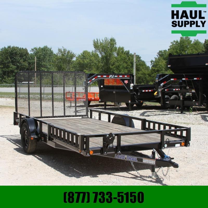 Load Trail 83X14 SIDE REAR LOADING ATV TRAILER LEDS