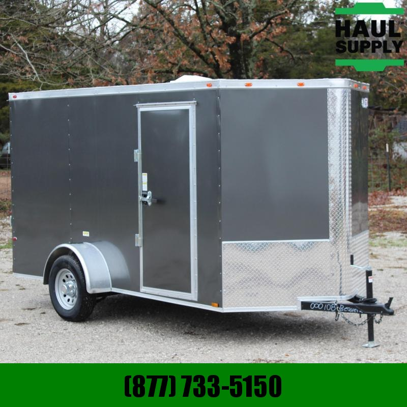 Cynergy Cargo 6X12 ROUNDED 'V' NOSE CARGO TRAILER ROOF