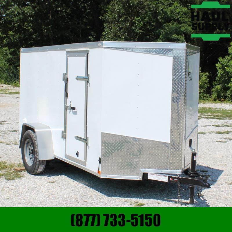 Lark 5X10 V-NOSE CARGO TRAILER SIDE DOOR W/BAR