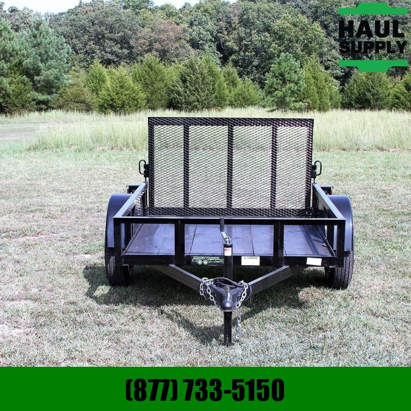 Wicked Trailer Manufacturing 5X6 Utility Trailer w/rear gate