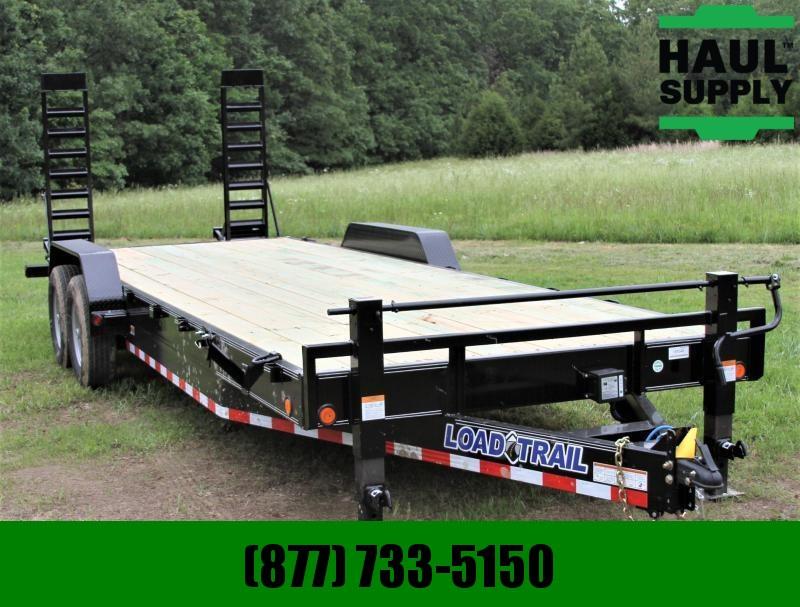 Load Trail 83X24 14K EQUIPMENT TRAILER DUAL JACKS CH