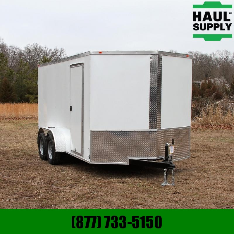 Traveler Cargo 7X14 7K V-NOSE CARGO TRAILER SIDE VENTS