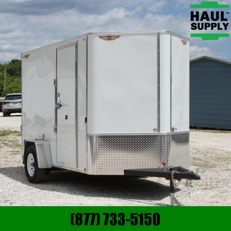 "H and H Trailer 6X10 78""H RIVETLESS BULLET LINED PREMIUM"