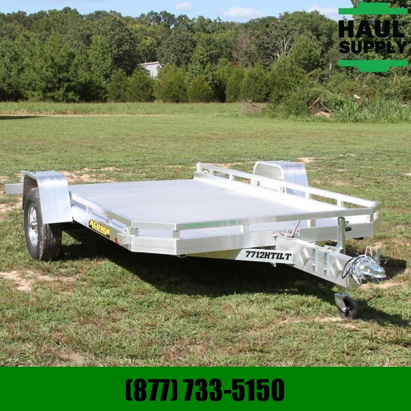 Aluma 77X12 NO RAMP TILT TORSION AXLE RUSTPR