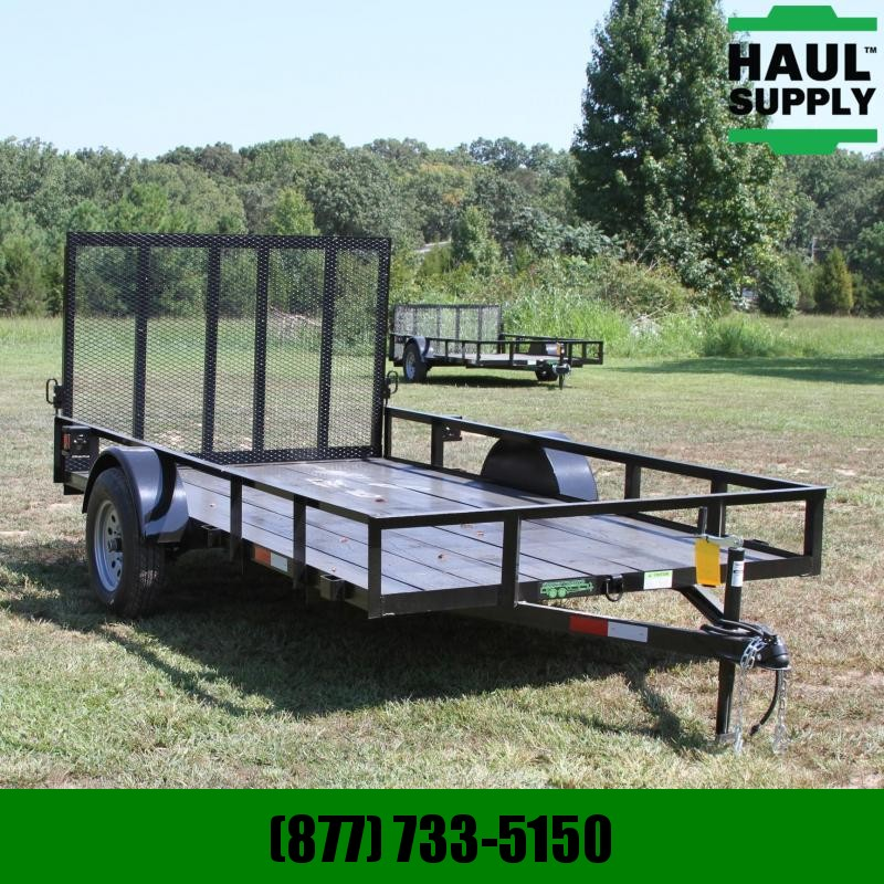 Wicked Trailer Manufacturing 76X12 UTILITY TRAILER TUBE GATE+MORE