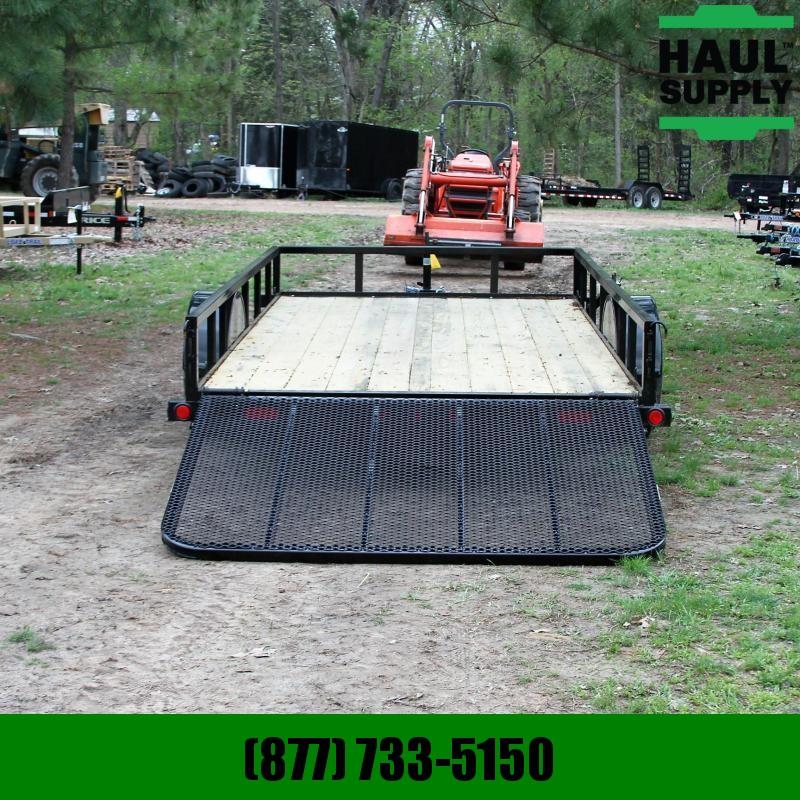 Load Trail 77X12 Utility Single Dexter Spring Axle S