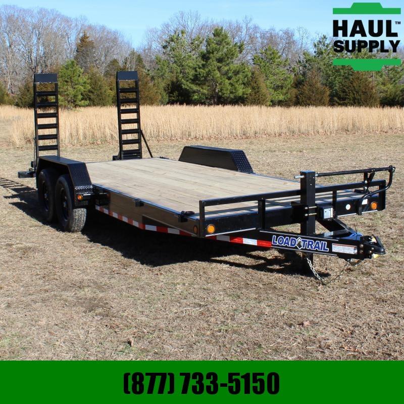 Load Trail 83X20 14K OPEN CAR HAULER 6IN CHANNEL FRA