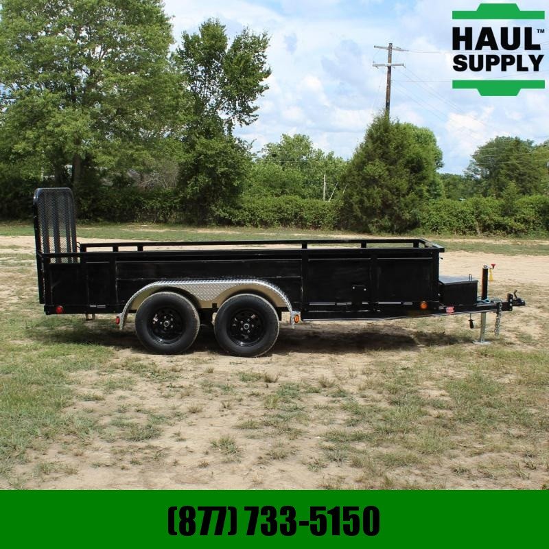 PJ Trailers 60X14 7K Channel Utility 16in on center c