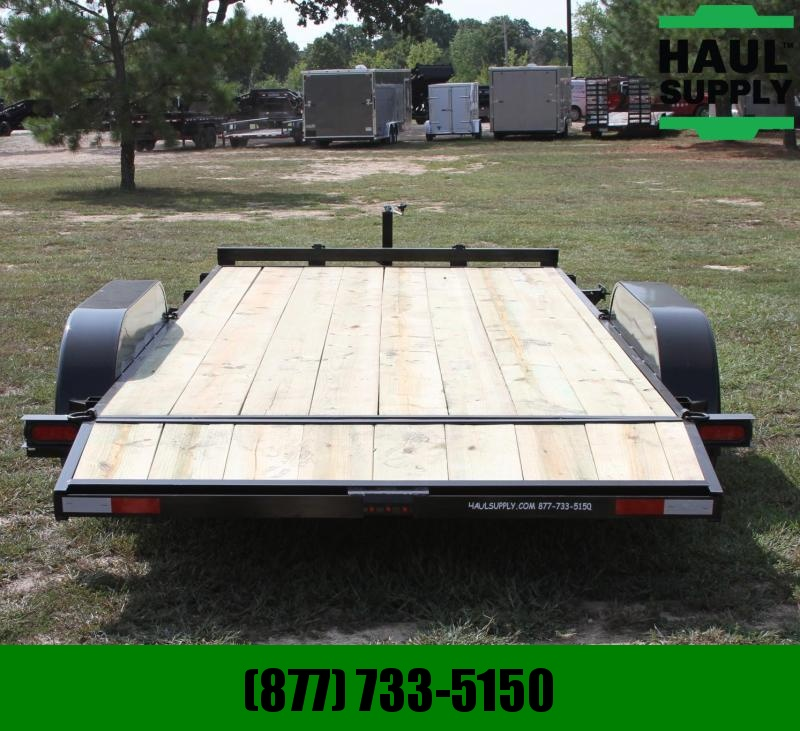 Wicked Trailer Manufacturing 82X18 7K OPEN CAR HAULER TRAILER 5FT SLID