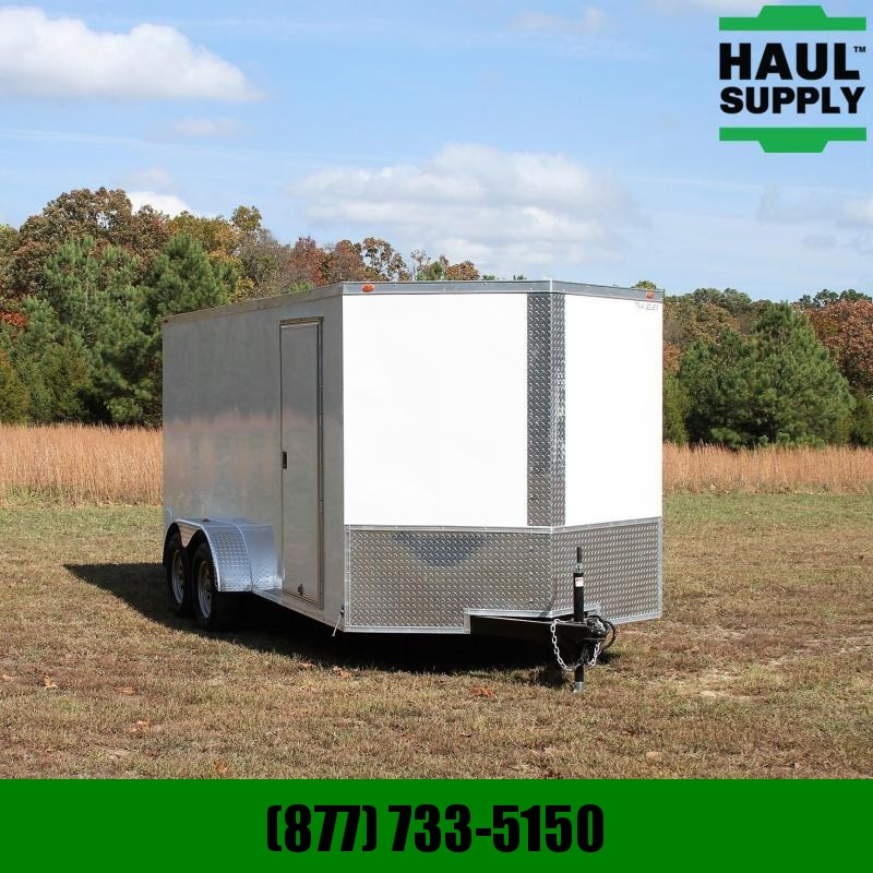 Traveler Cargo 7X16 7K V-nose Cargo Trailer Side vents S