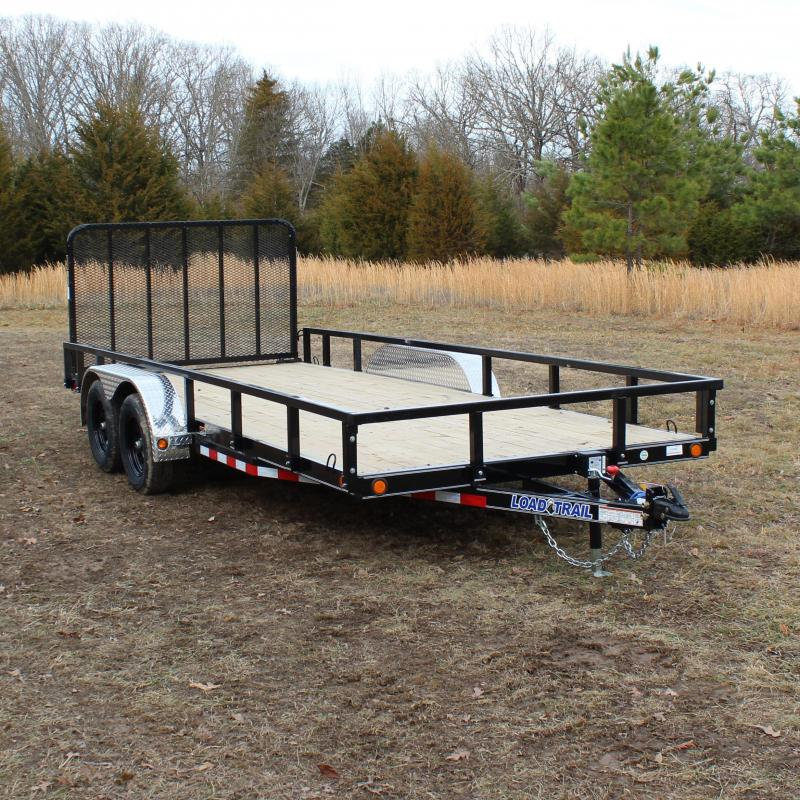 Load Trail 83X18 7K UTILITY TRAILER 4FT FOLD IN GATE