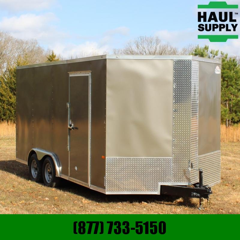 Rock Solid Cargo 8X16 7K V-NOSE XT ENCLOSED CARGO TRAILER