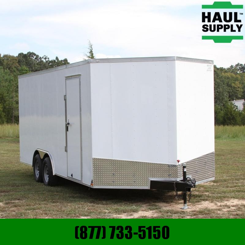 Lark 8.5X20 7K V-nose XT Car Hauler Enclosed R