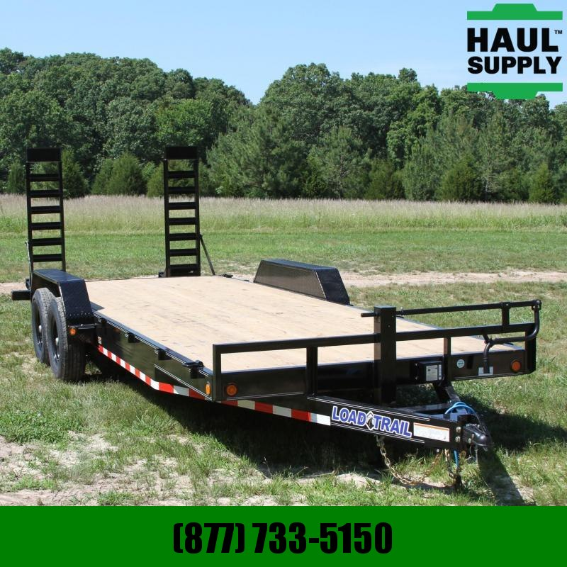 Load Trail 83X22 14K OPEN CAR HAULER 6IN CHANNEL FRA