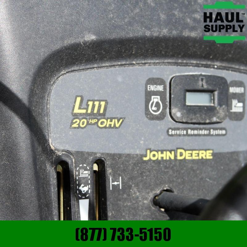 """John Deere 42""""CUT 20HP+CANOPY BAGGER SEAT UPGRADES"""